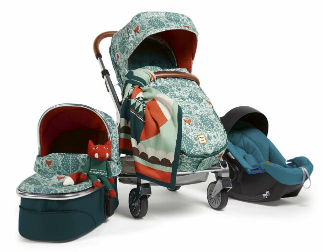Donna Wilson kinderwagen productlijn mamas&papas