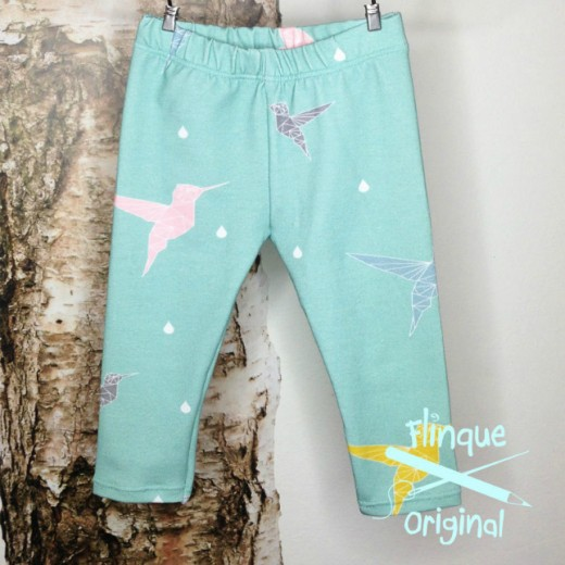 Flinque babylegging - keep them humming mint