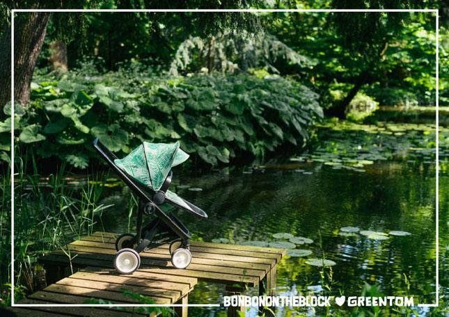 Bonbonontheblock Greentom greenstrollin kinderwagen