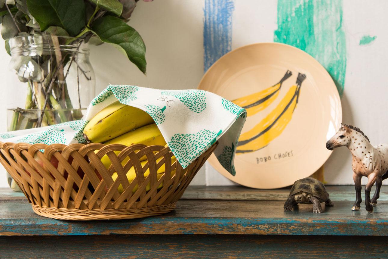 Bobo Choses maison wooncollectie - bord banaan