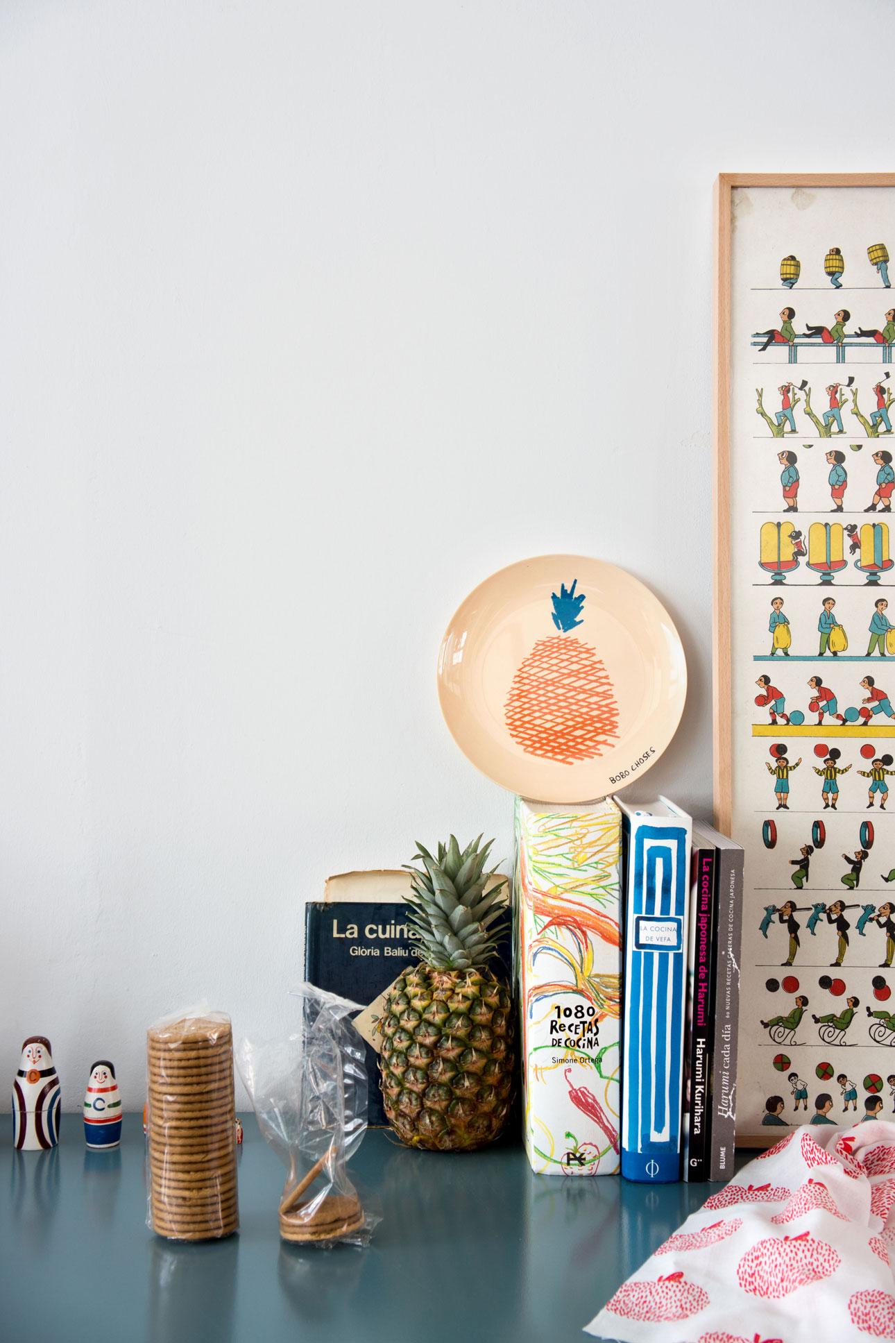 Bobo Choses maison wooncollectie - bord sinaasappel - bobo maison