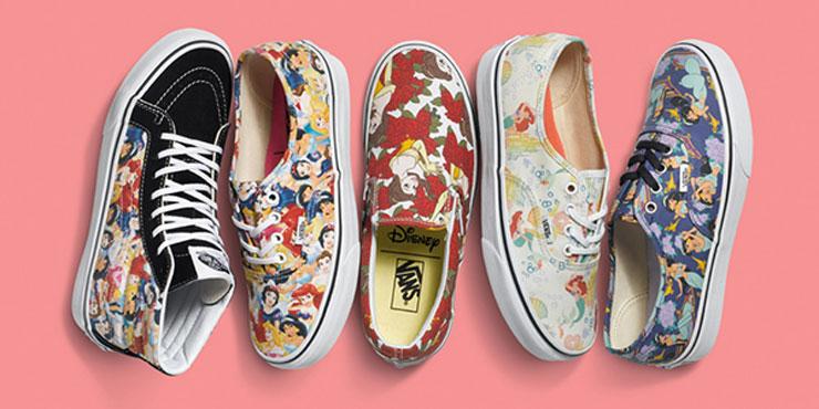 Vans Disney Princesses damesschoenen - sneakers prinsessen