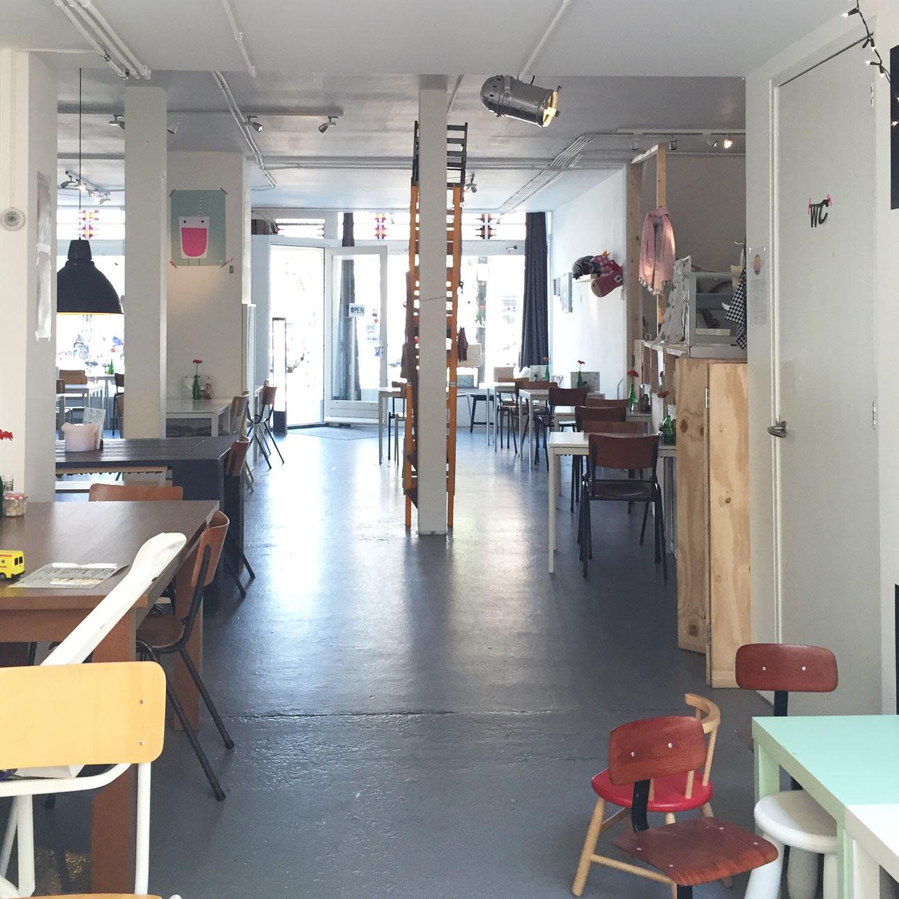 Dagje Amsterdam met kids Blender concept store