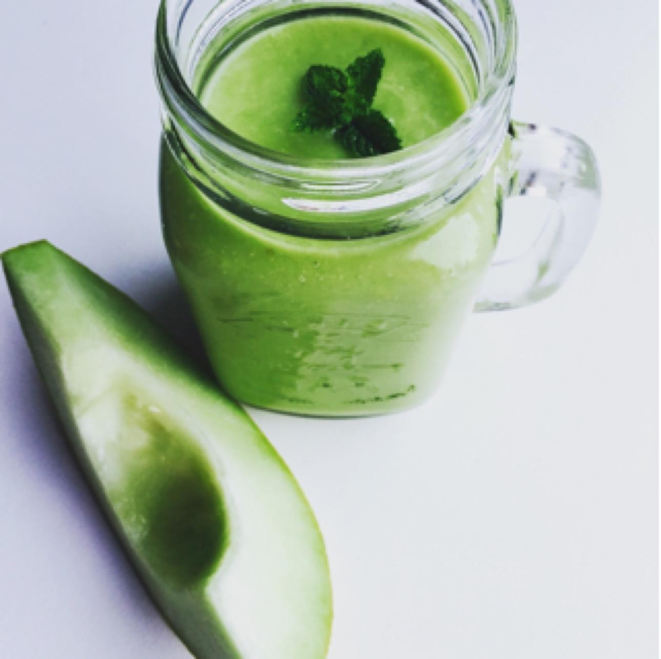 Groene smoothie met avocado - groene smoothies