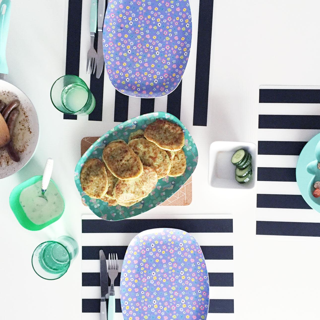 Mamalifestyle Marike augustus 2015 avondeten courgettepannenkoekjes