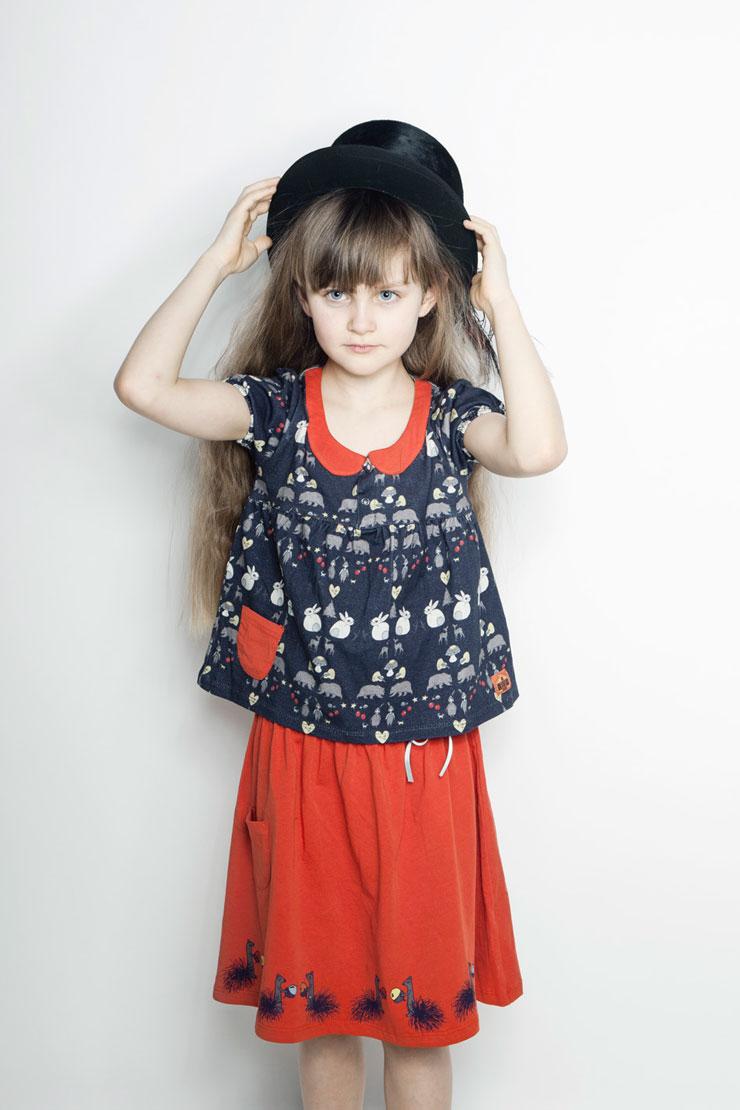 Modeerska Huset aw15 Deep Forest girl