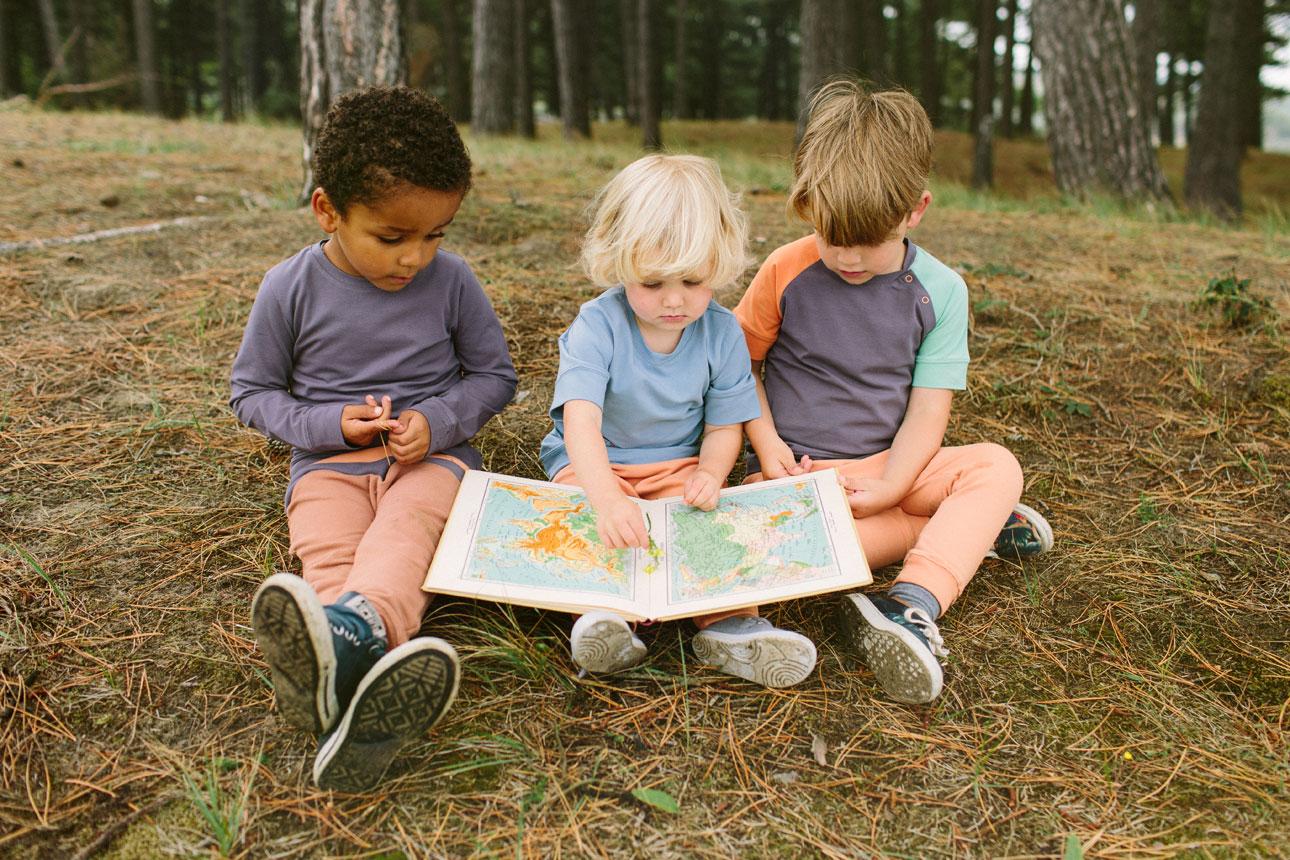 little rookies drie jongens atlas