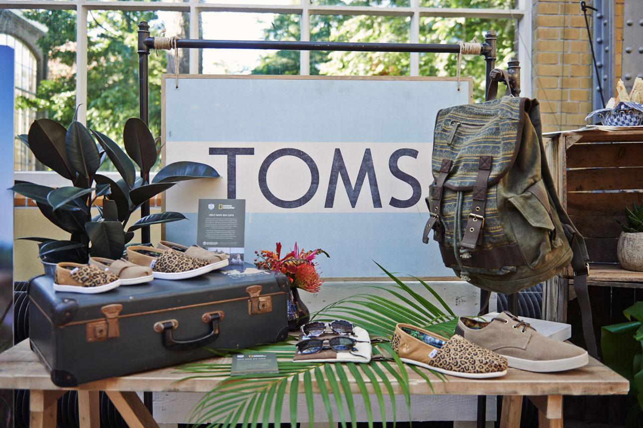 Big Cats Collection Toms National Geographic schoenen zonnebrillen tassen