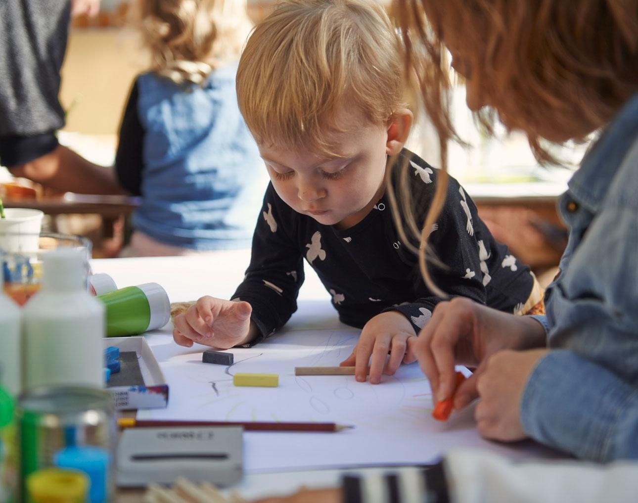 toms animal initiative perspresentatie kids art workshop kidspiration Javian en Marike