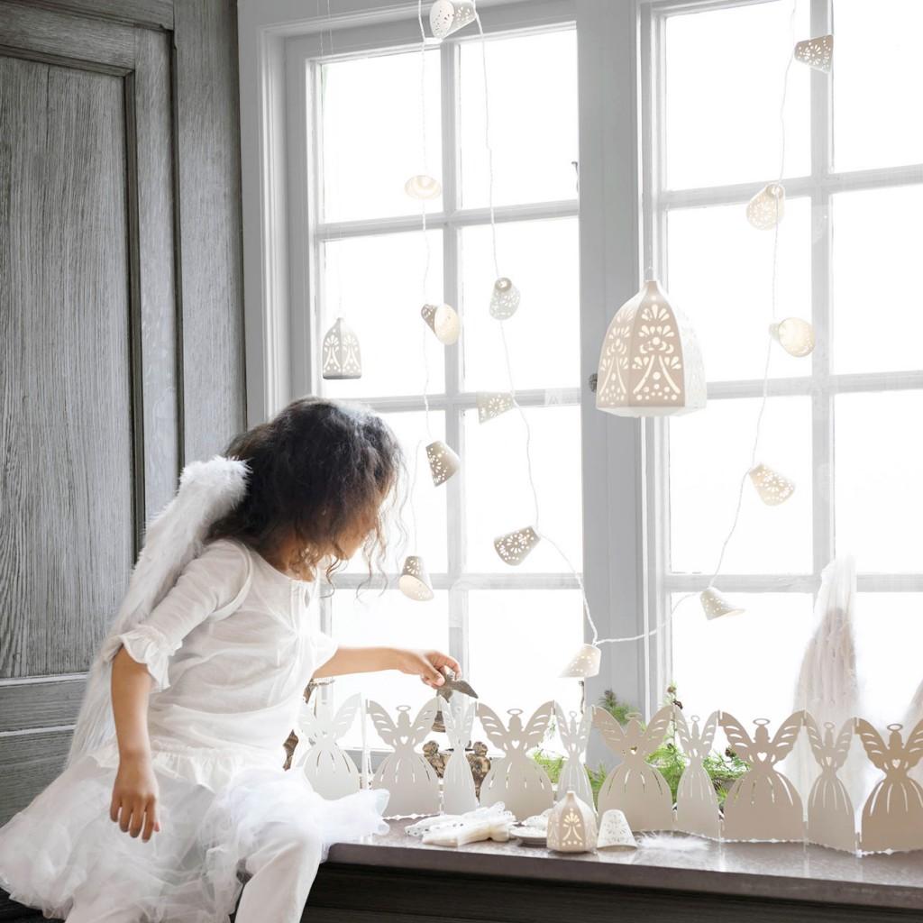 Ikea kerst 2015 kerstengel wit licht