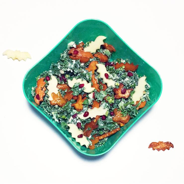 Mamalifestyle oktober 2015 Halloween salade