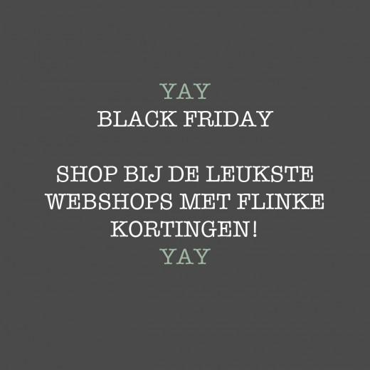 black friday shoppen webshops lijstje