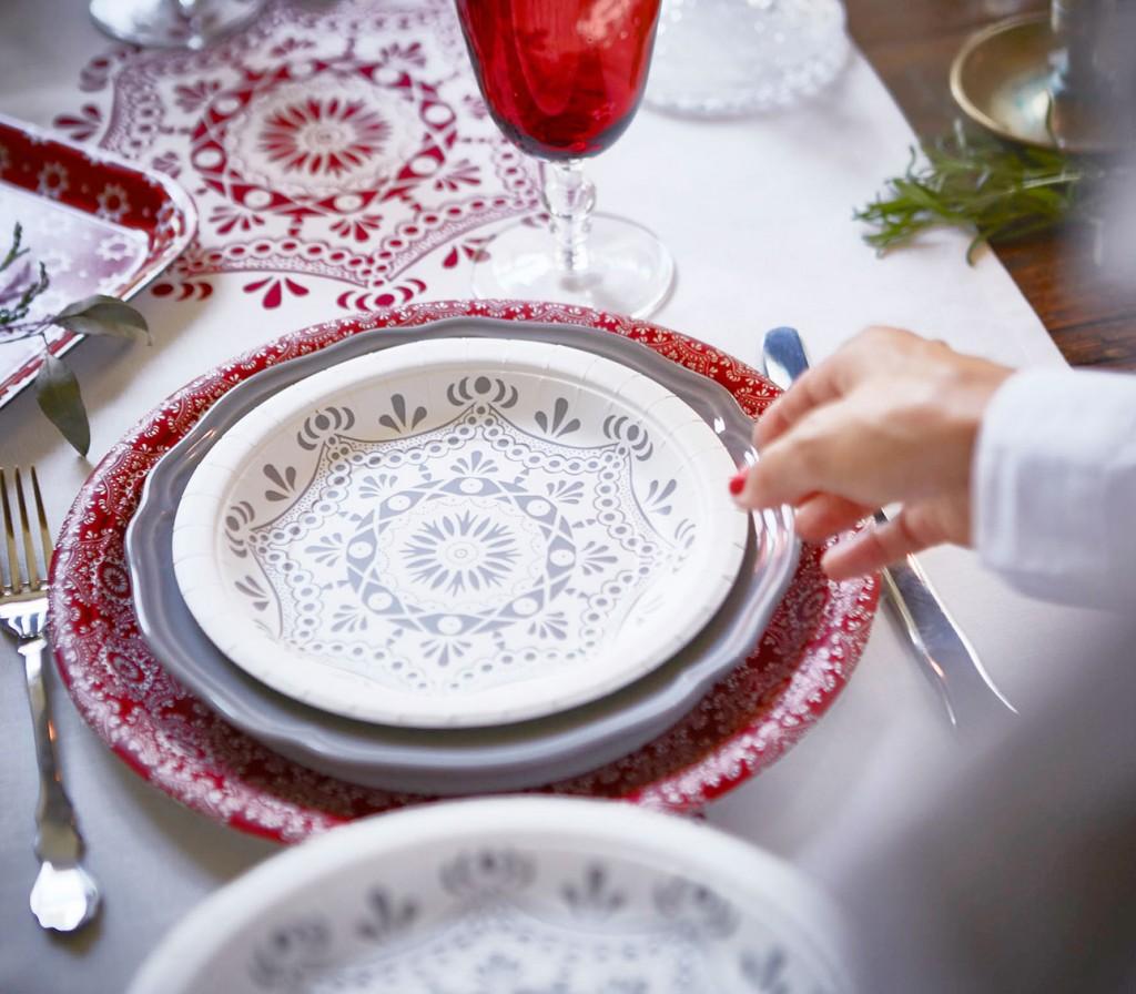 Ikea kerst 2015 tafel klassiek dekken
