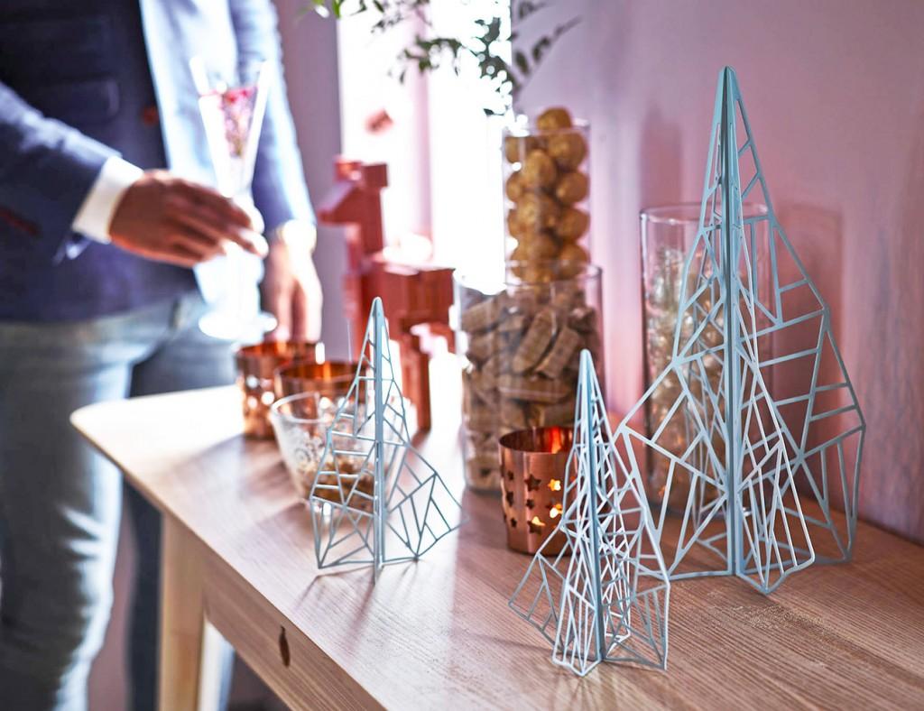 Ikea kerst 2015 grafische kerstbomen