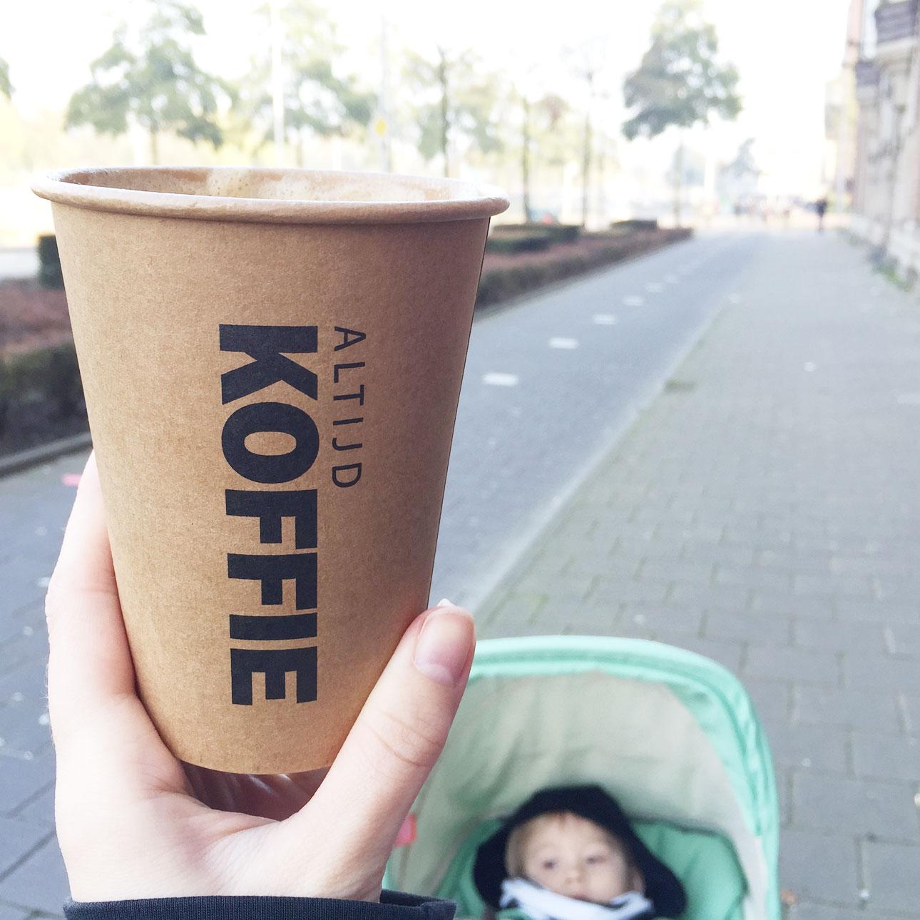 Mamalifestyle november 2015 koffie bij Sunday Market