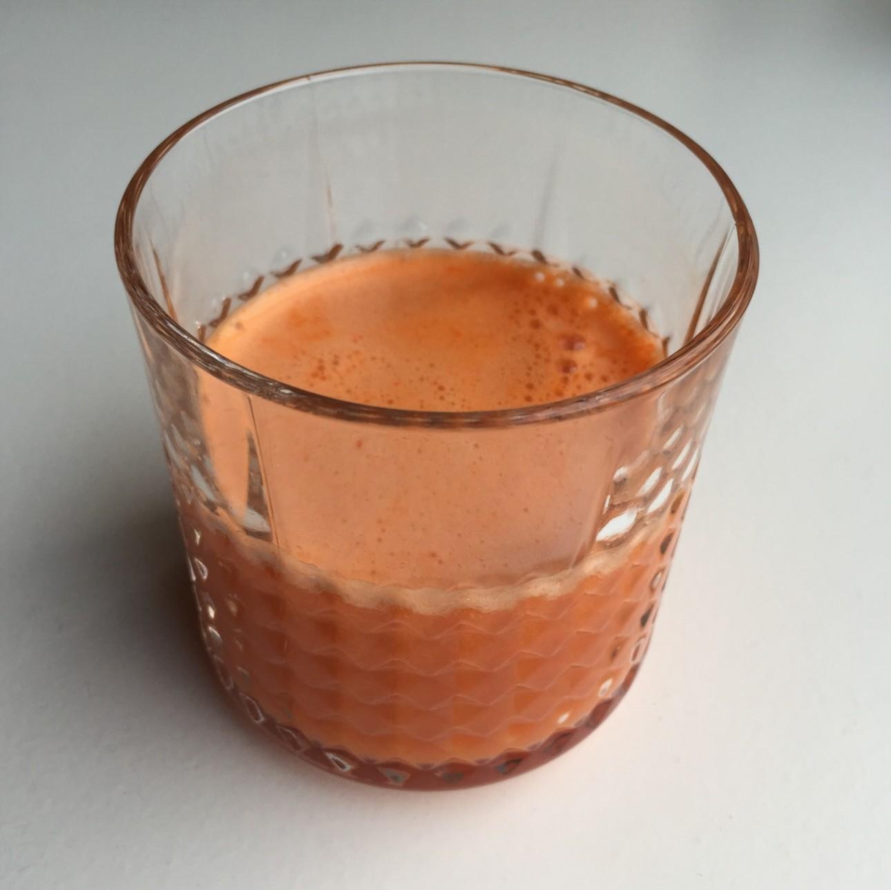 Detox sapje - gezond sapje - wortelsap
