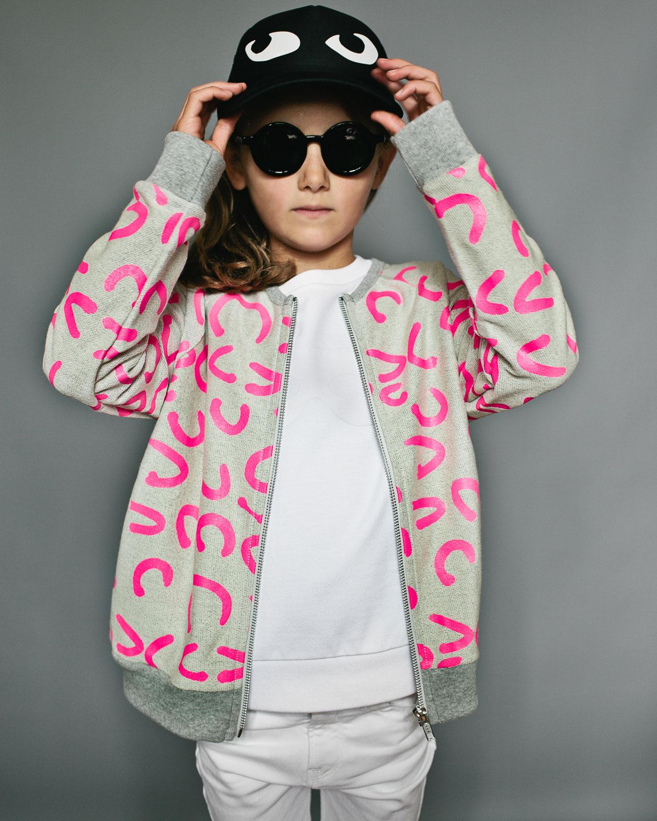 Beau Loves ss16 holiday neon pink circles