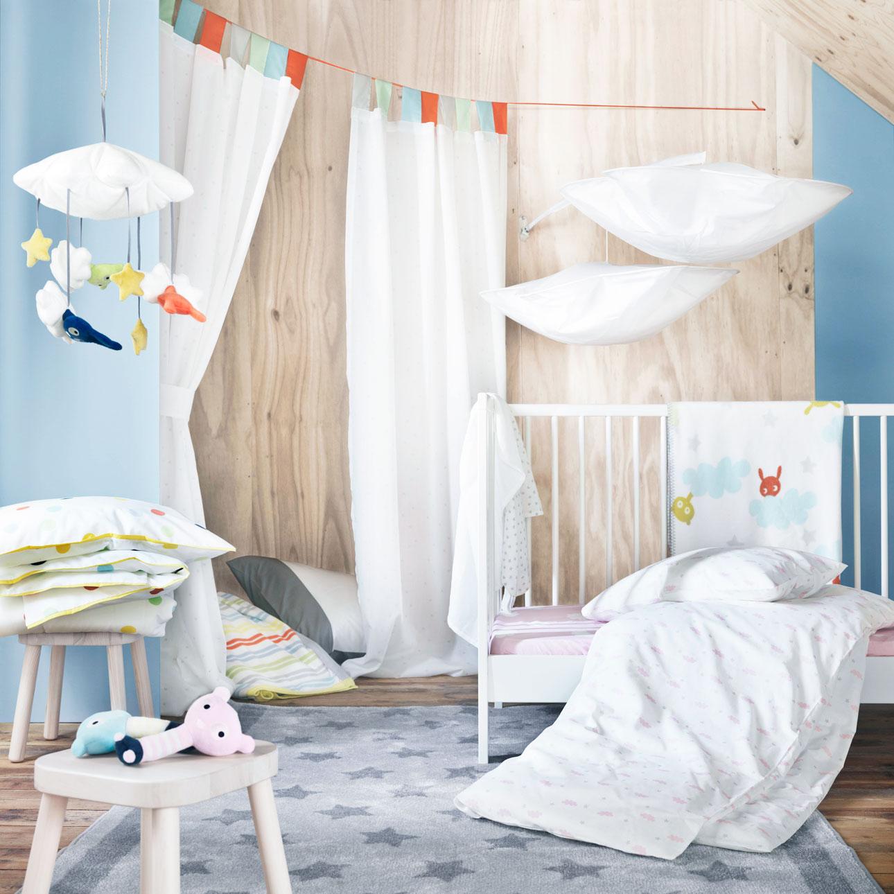 Ikea kinderland beddengoed textiel