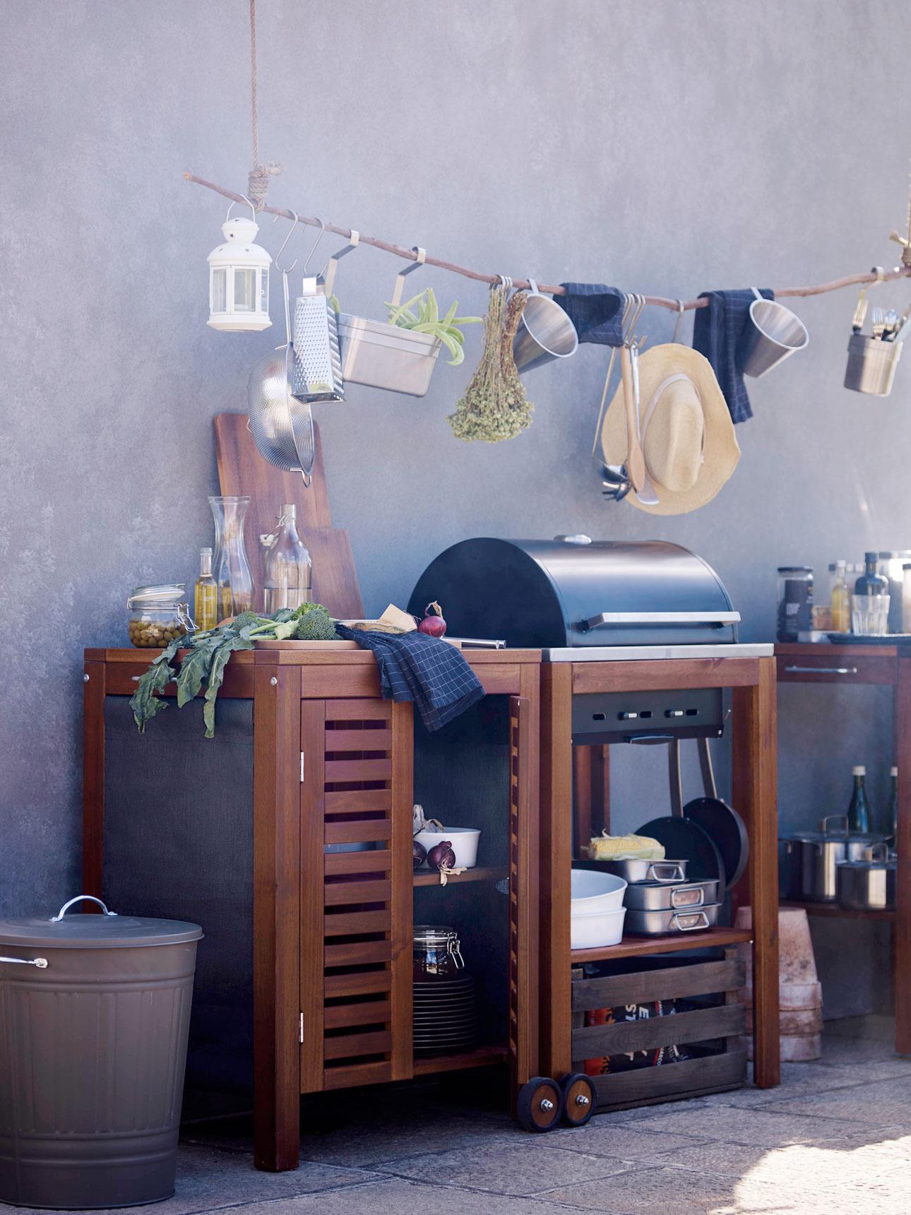 Ikea tuincollectie 2016 buiten eten