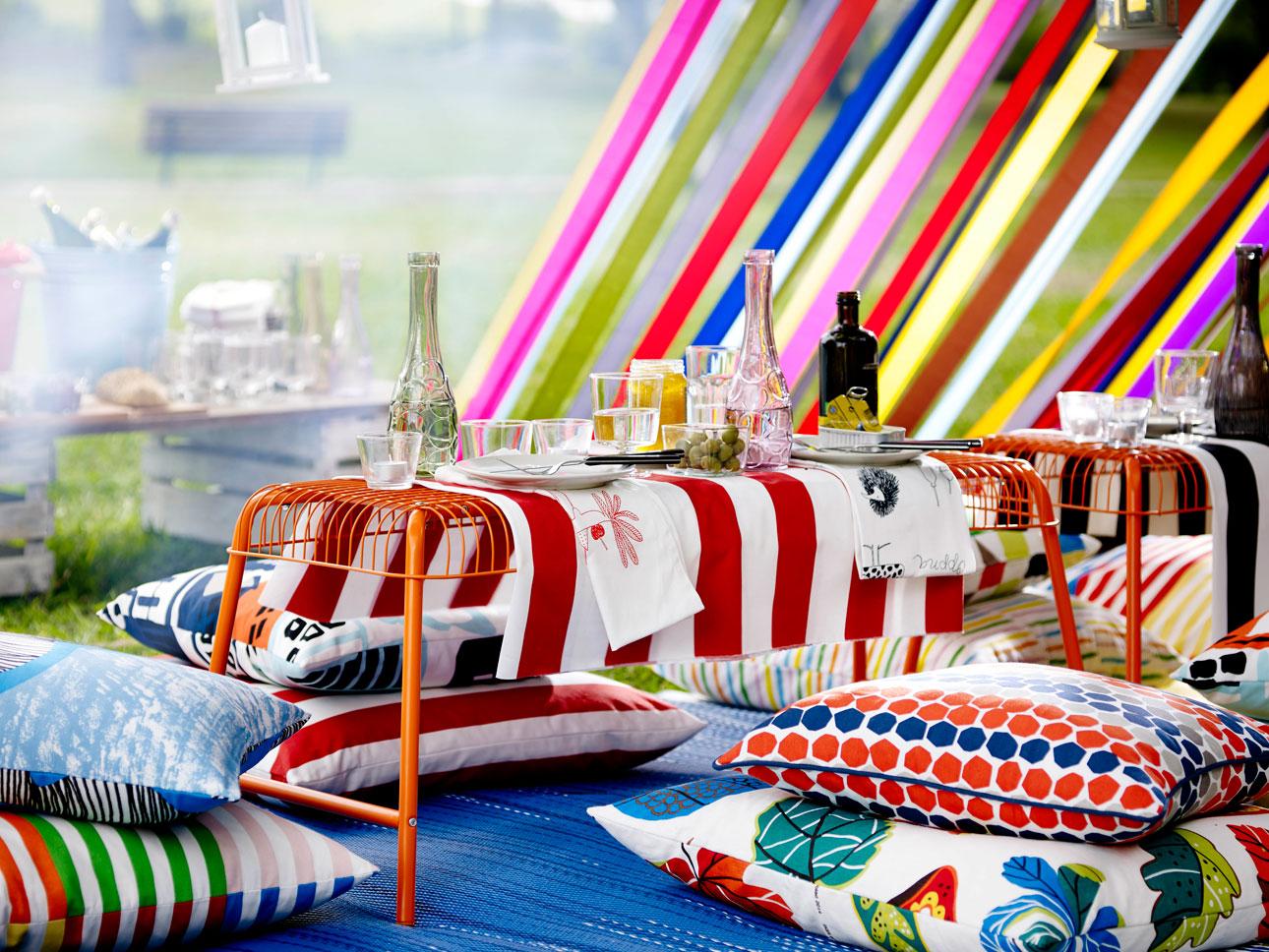 Ikea Sommar 2016 buiten feest