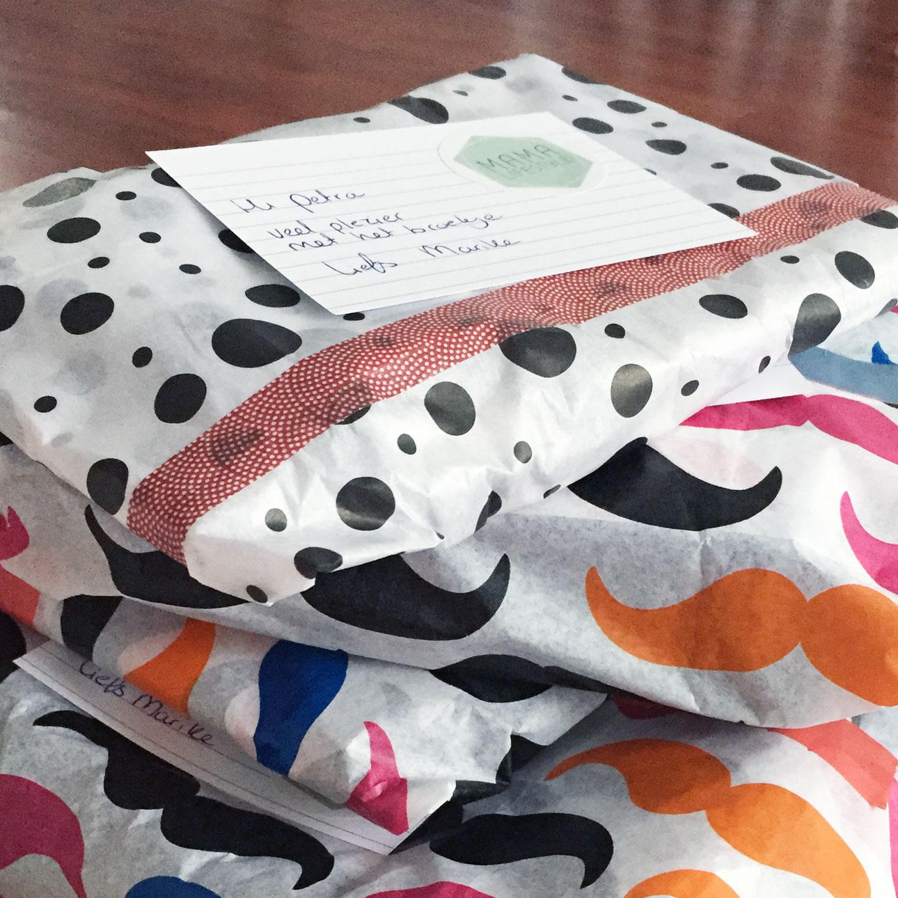 Mamalifestyle januari 2016 pakketjes