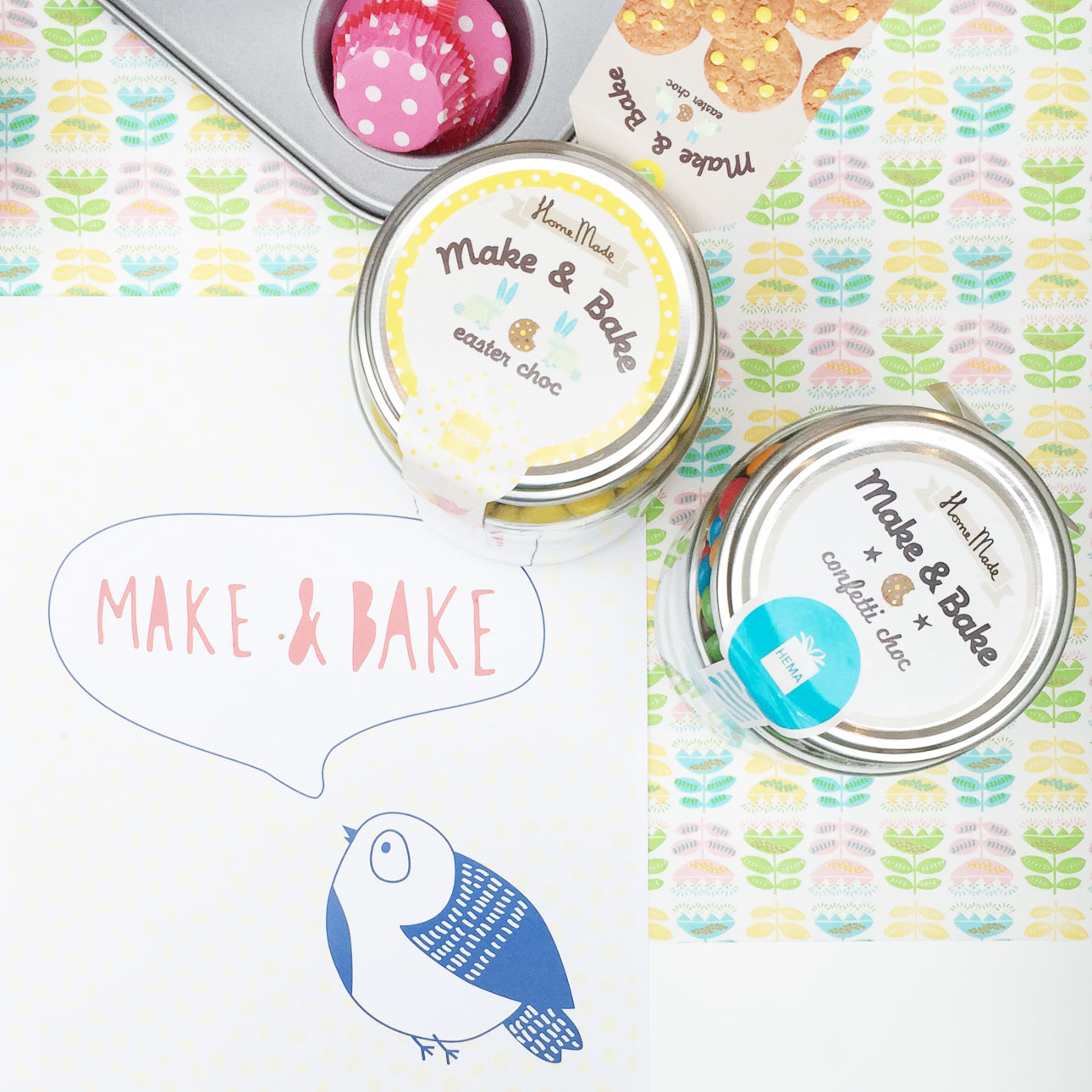 hema persdag make & bake easter