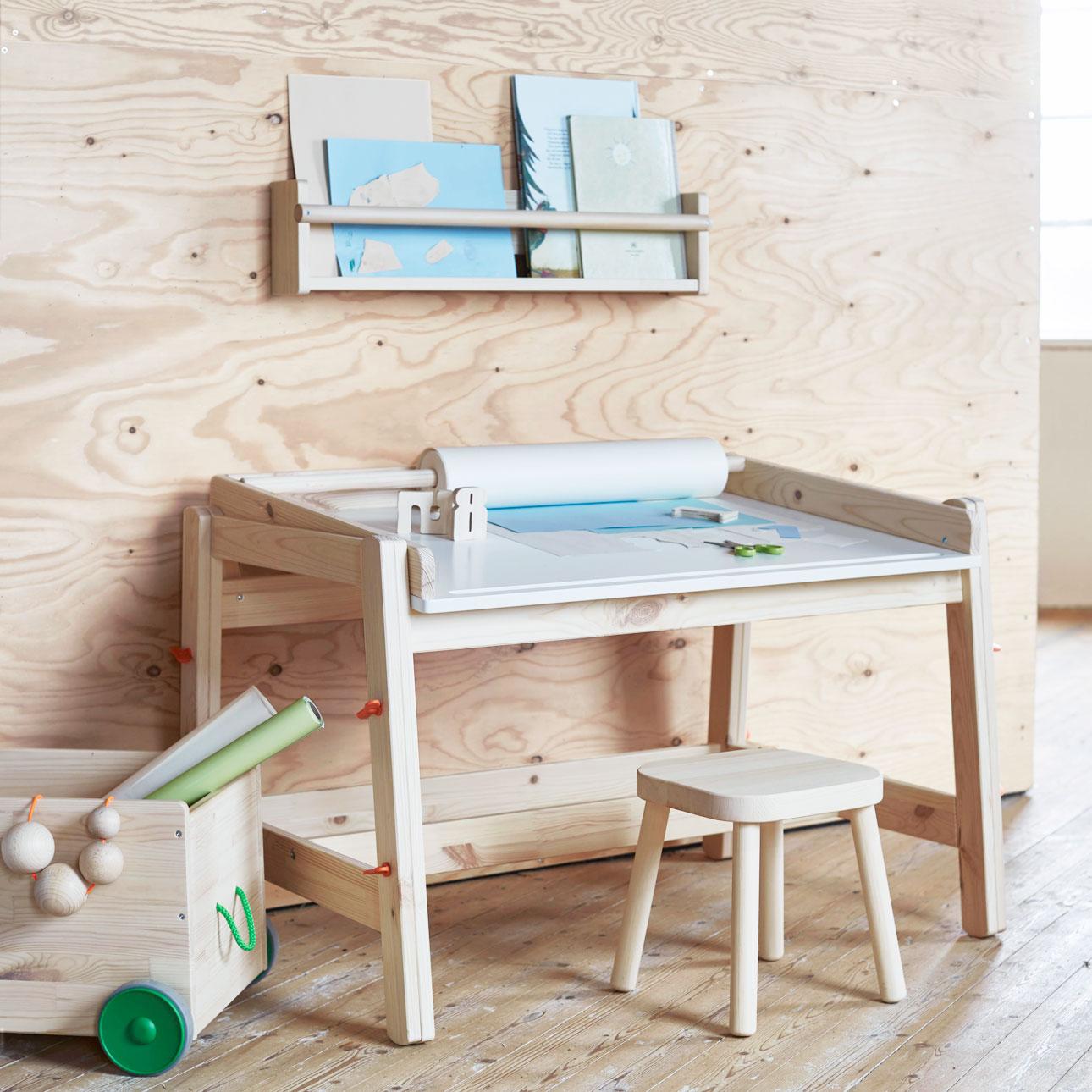 ikea kinderland houten bureau
