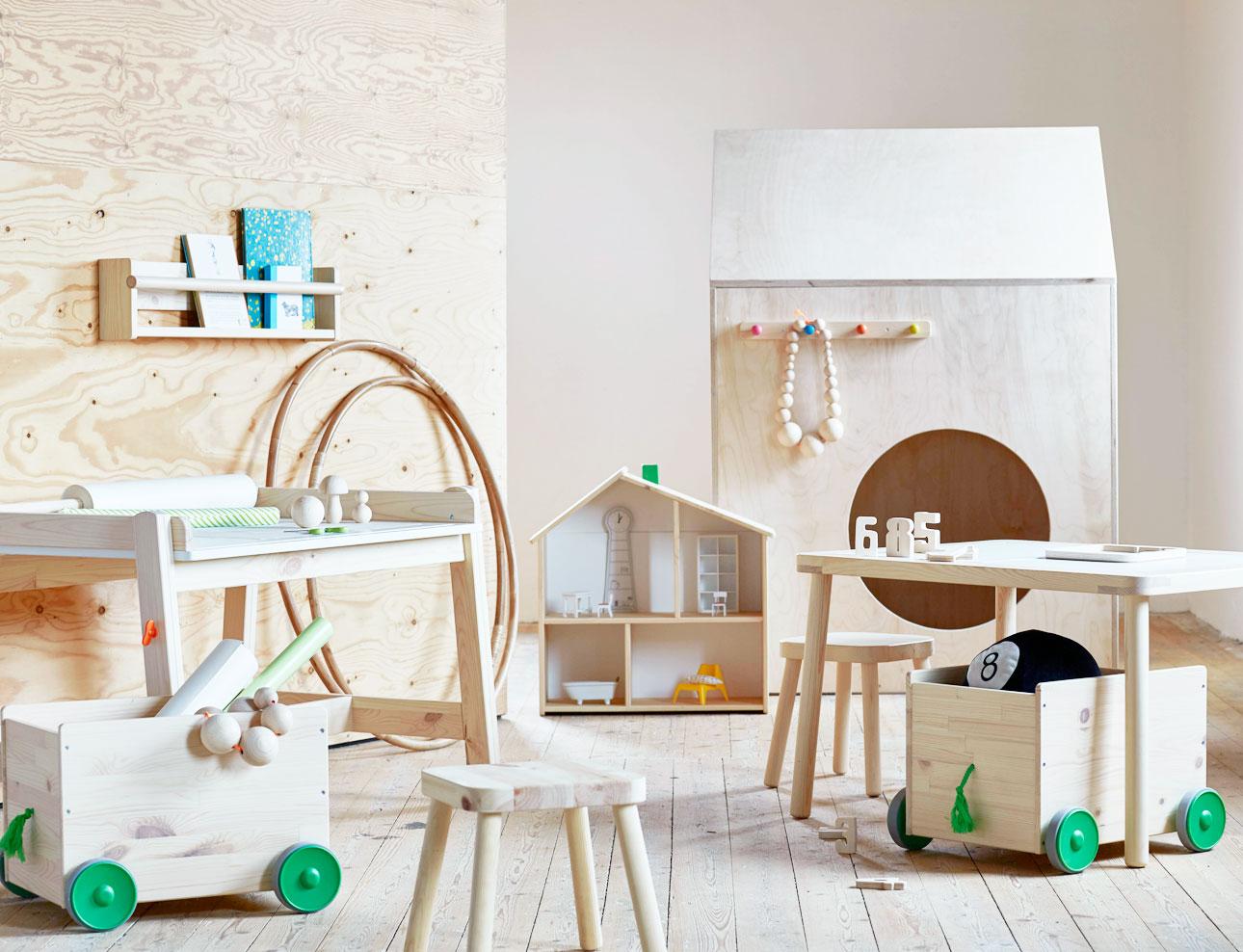 ikea kinderland houten meubels