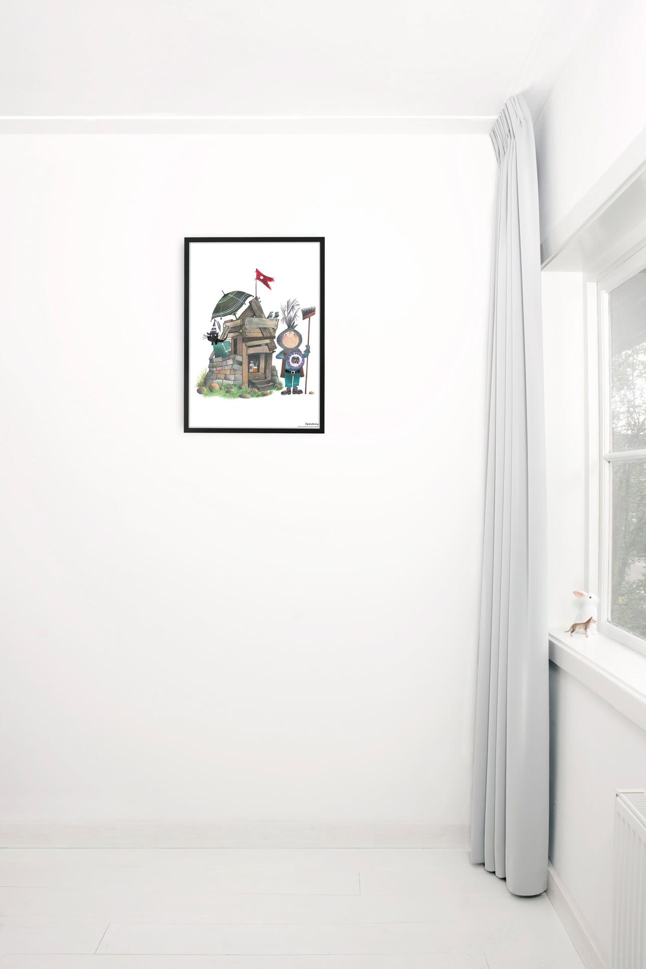 Kek Amsterdam poster fiep ridder