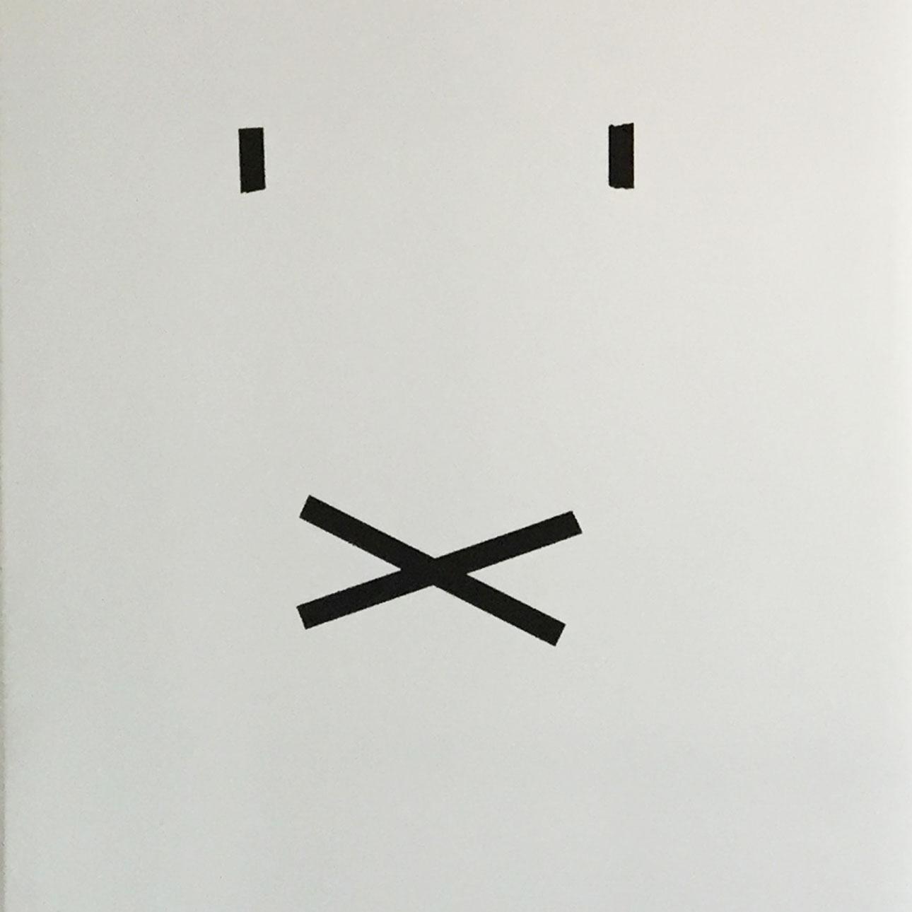 Nijntje verjaardag koelkast masking tape