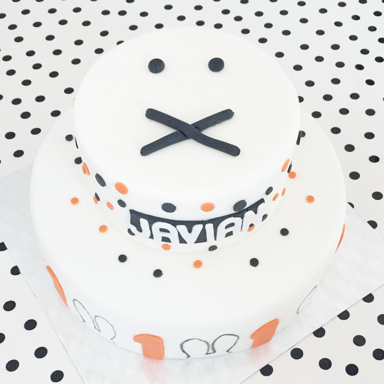 Nijntje verjaardag nijntje taart