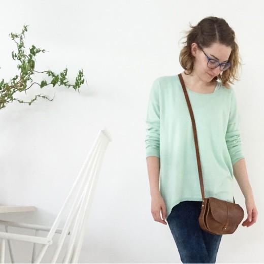Marike OOTD fashion mom mint voorjaar