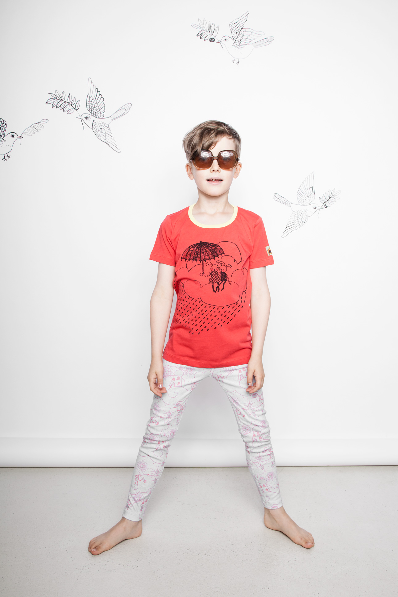 Modeerska Huset SS16 Friends t-shirt Heavenly Abode leggings