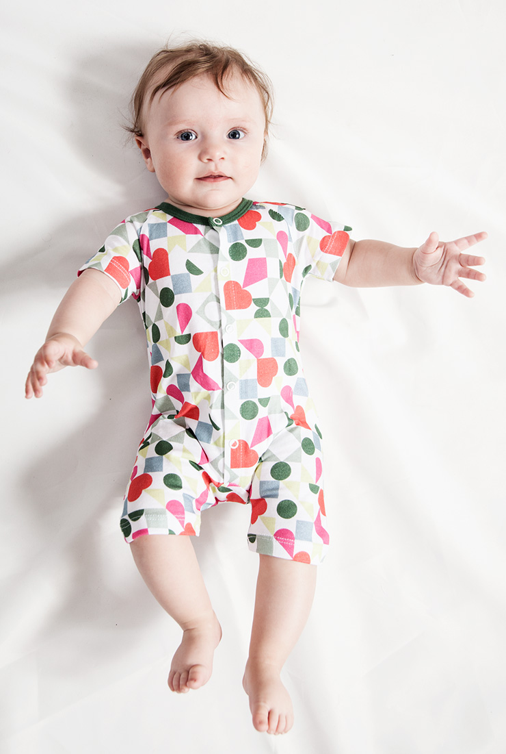 Modeerska Huset SS16 Love Tiles jumpsuit