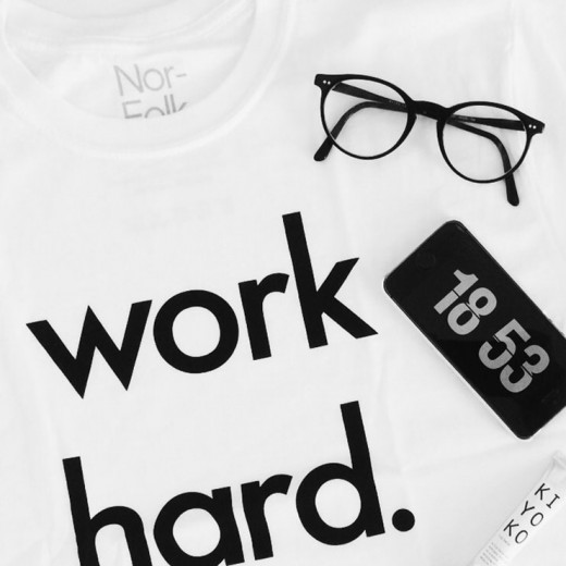 Nor Folk Work Hard shirt