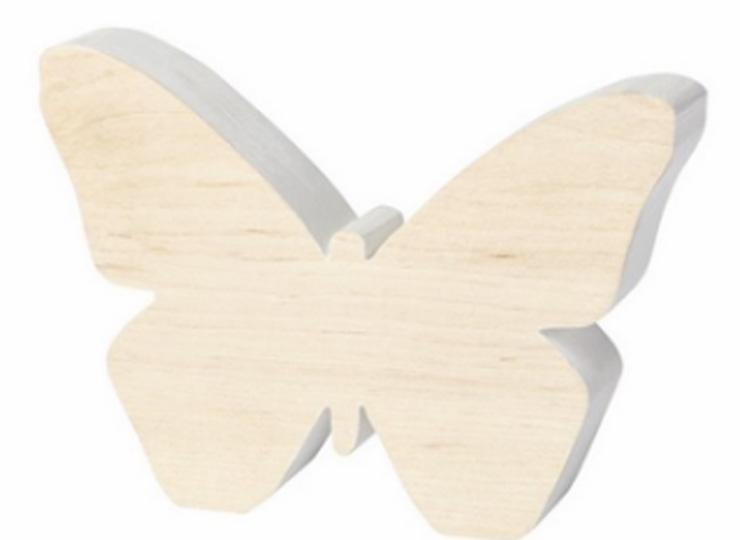 moederdag vlinderkindjes houten vlinder