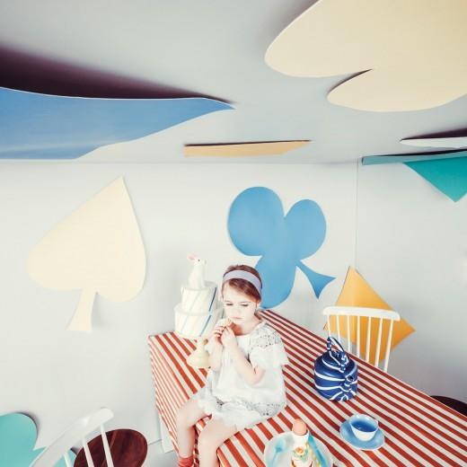 Mango Milk Alice in Wonderland kinderkleding
