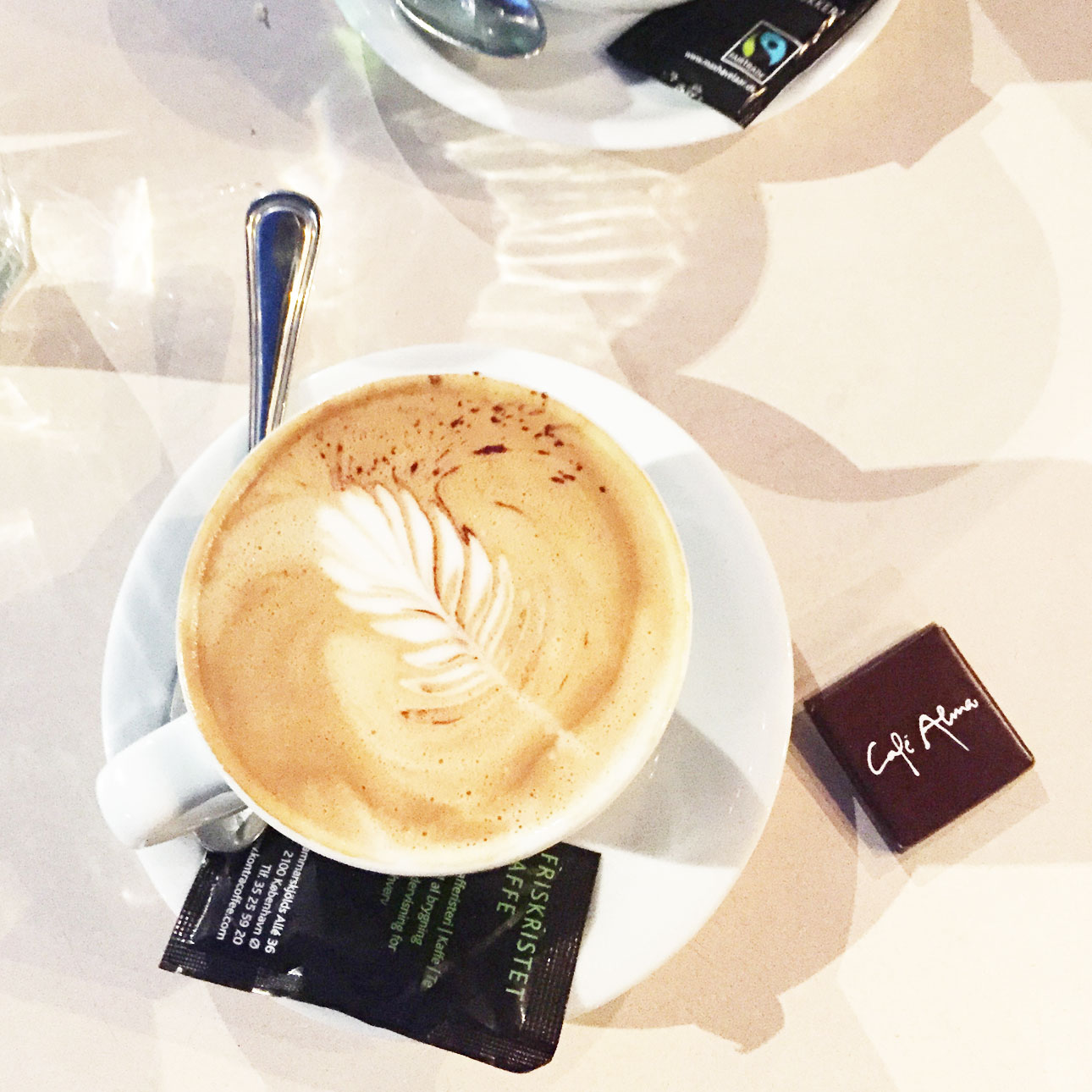 Kopenhagen hotspots cafe alma koffie