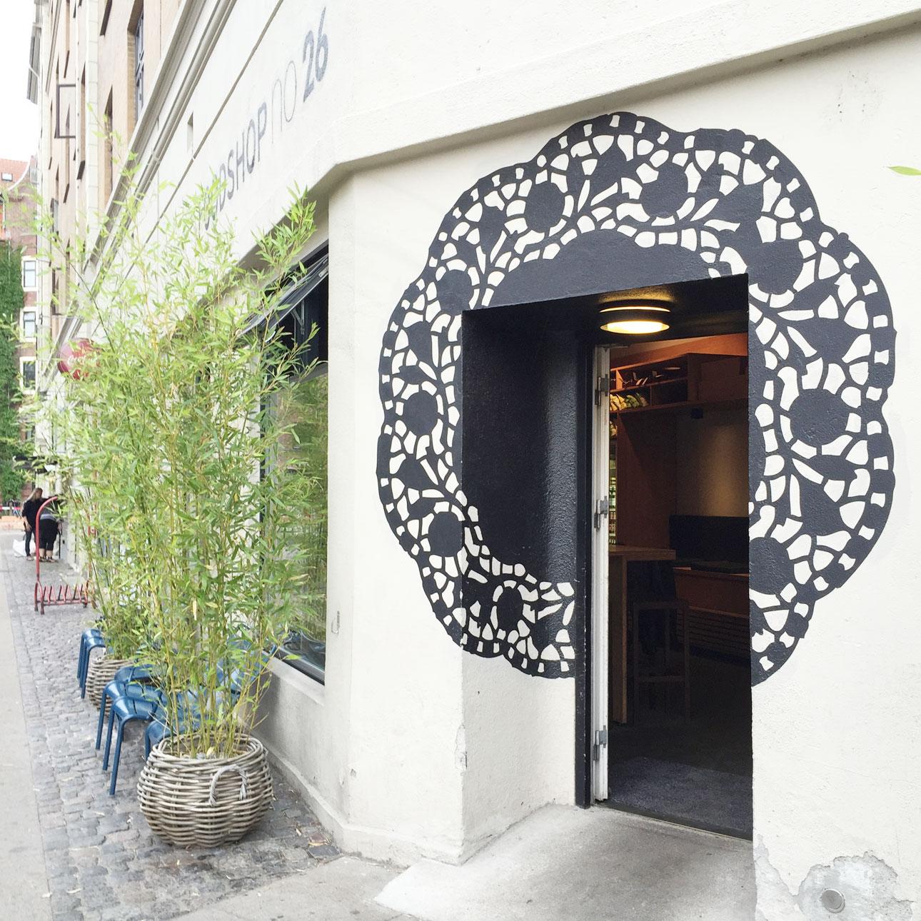 Kopenhagen hotspots foodshop 26 buiten