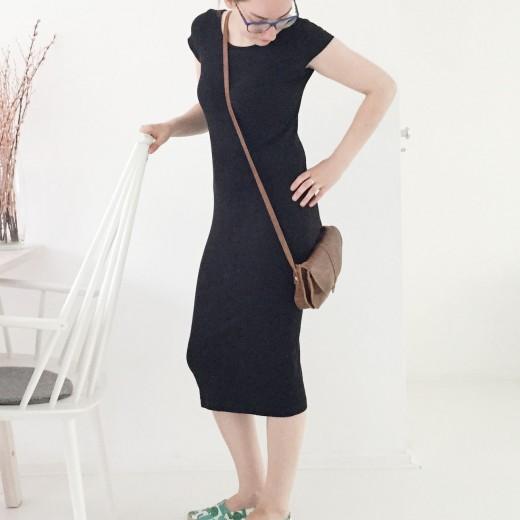 OOTD Marike black dress keecie