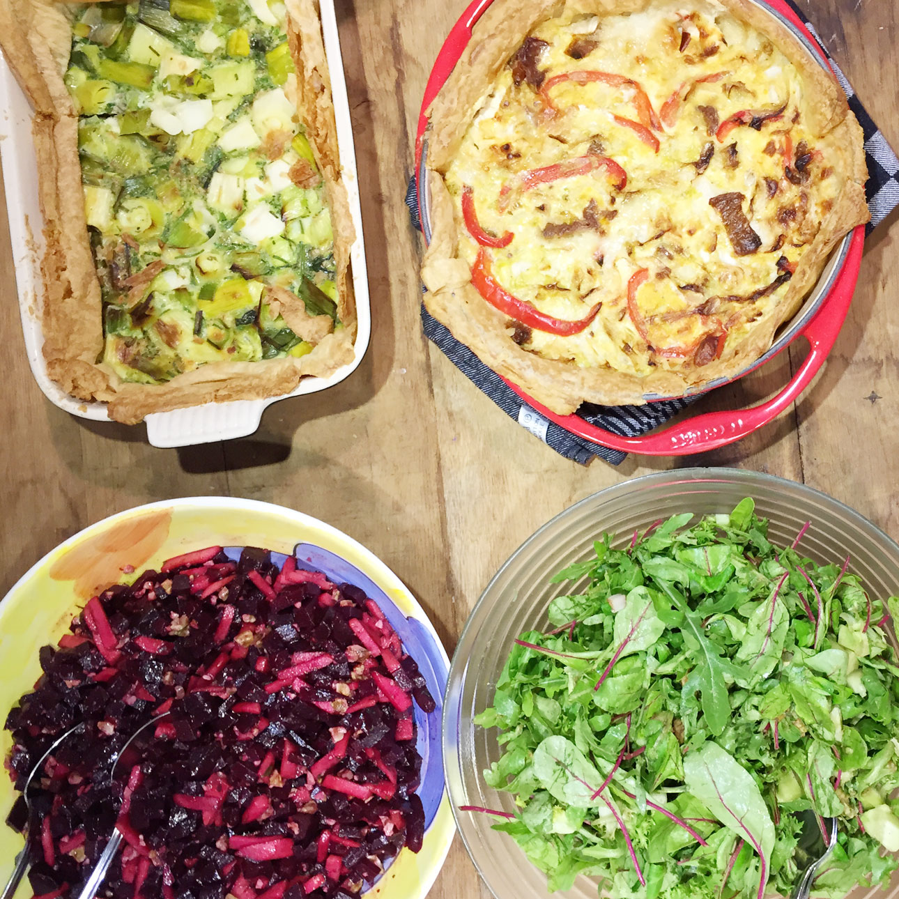 lunch de kleine keuken bloggerstmeeting