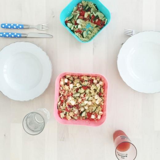 griekse couscous salade