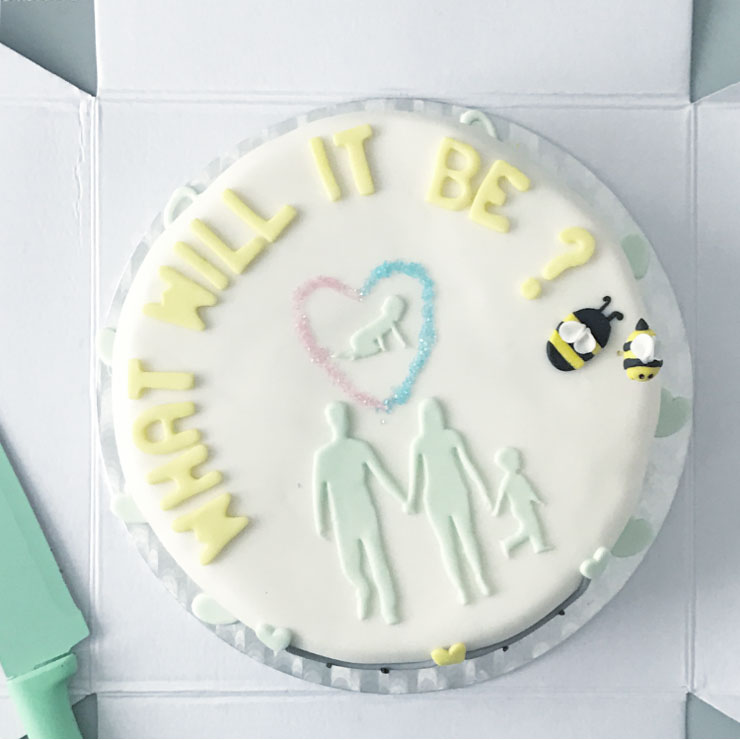 mamalifestyle gender reveal party taart
