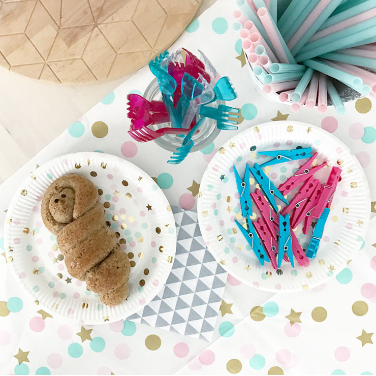 mamalifestyle gender reveal party tafel