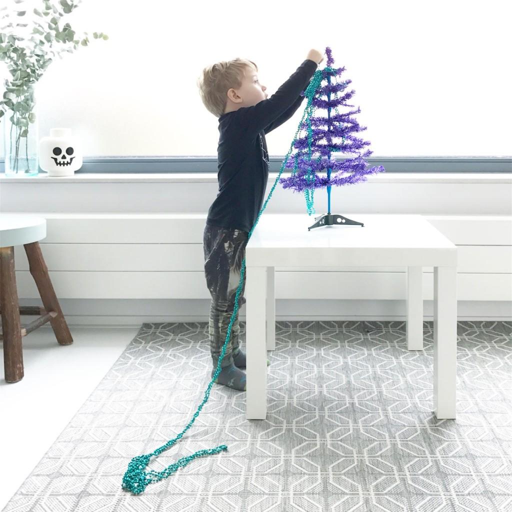 javian kerstboom versieren