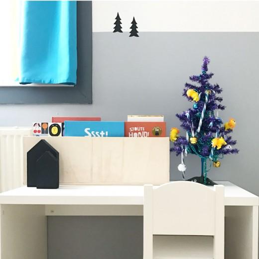 kerst kinderkamer kerstboom