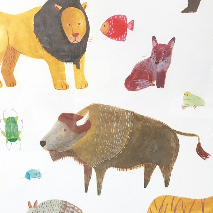 poster kinderkamer marta abad blay animals