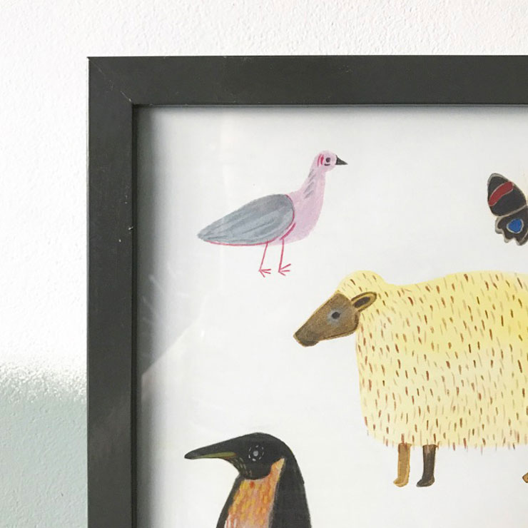 poster kinderkamer marta abad blay duif