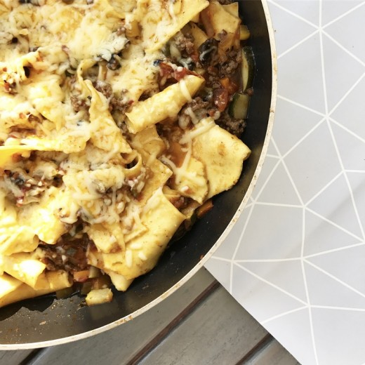 recept allerhande lasagne in 1 pan