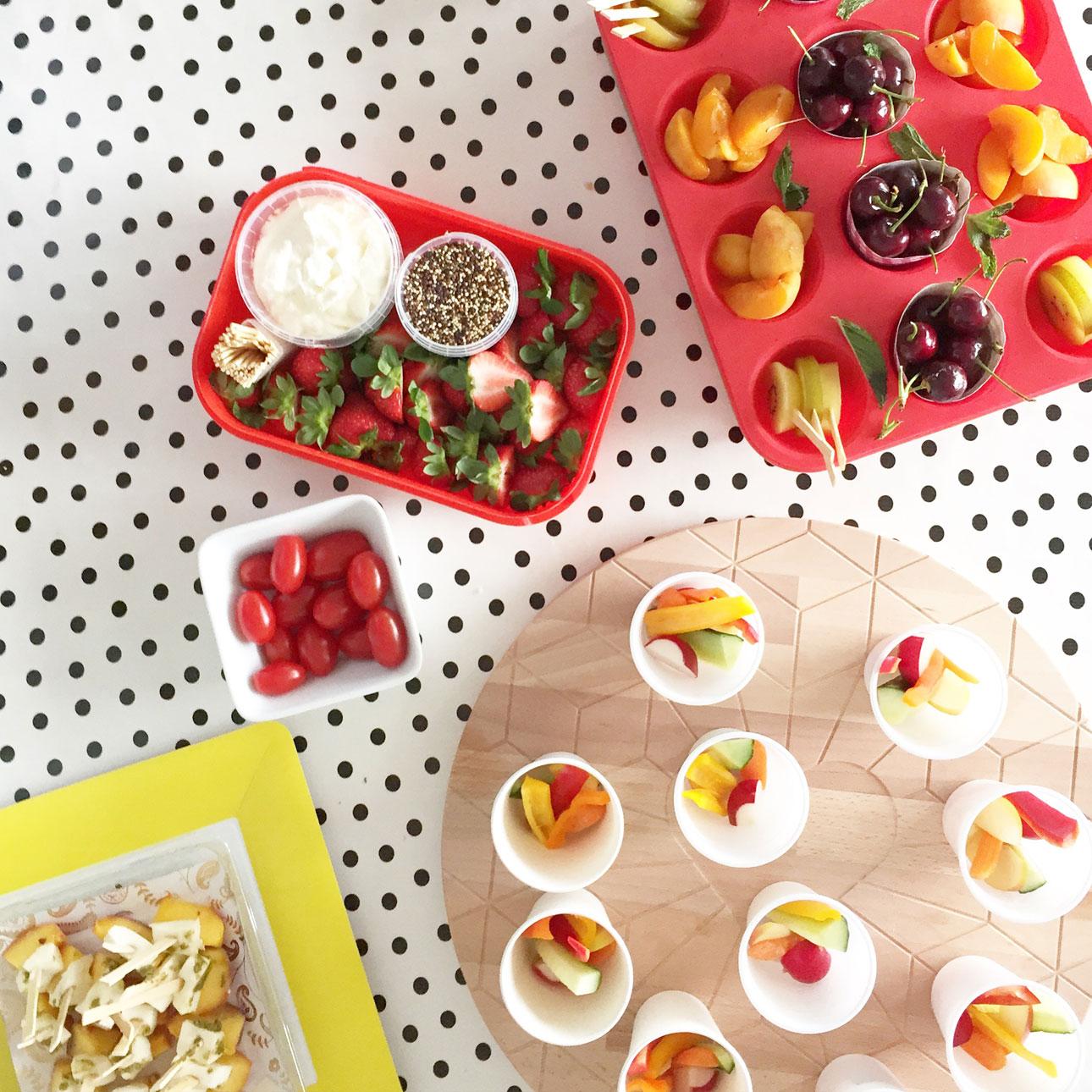 mamalifestyle fruit feest hapjes